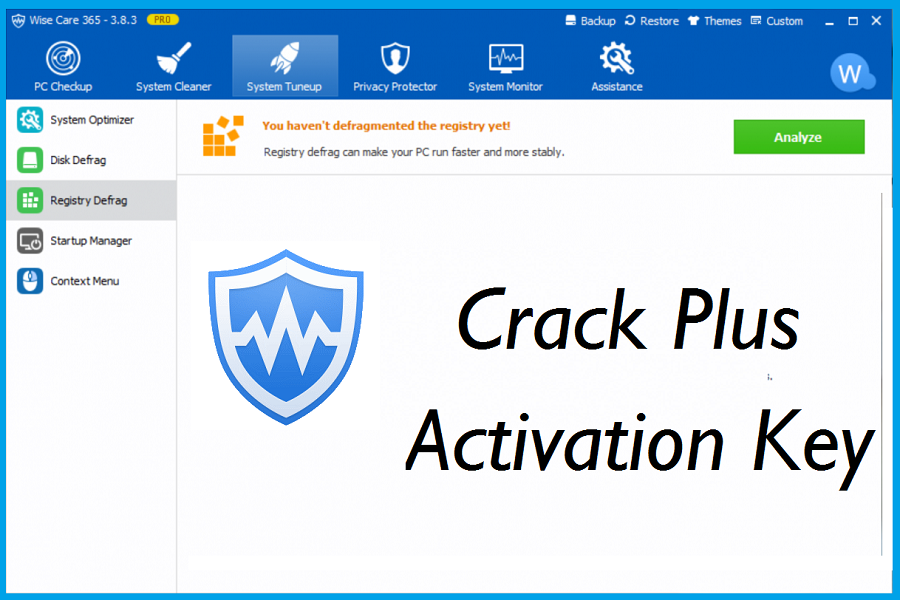 Wise Care 365 PRO Crack Plus Key Latest Version download