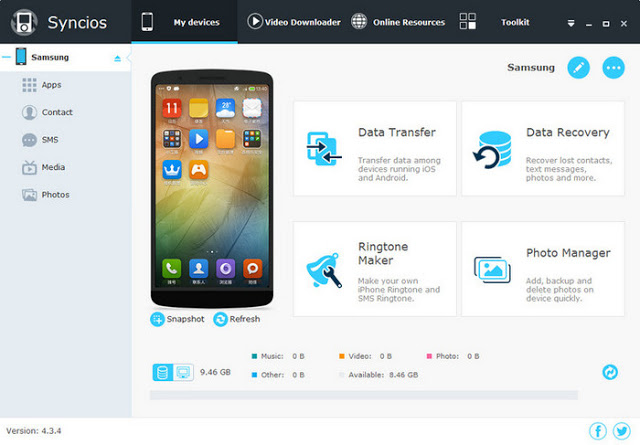 SynciOS Manager Pro 6.5.5 Crack Plus Full Download