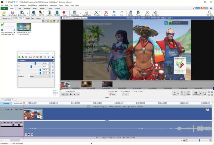 VideoPad Video Editor 7 Crack