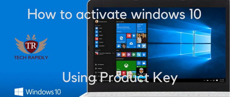 Windows 10 Activator with Product Key