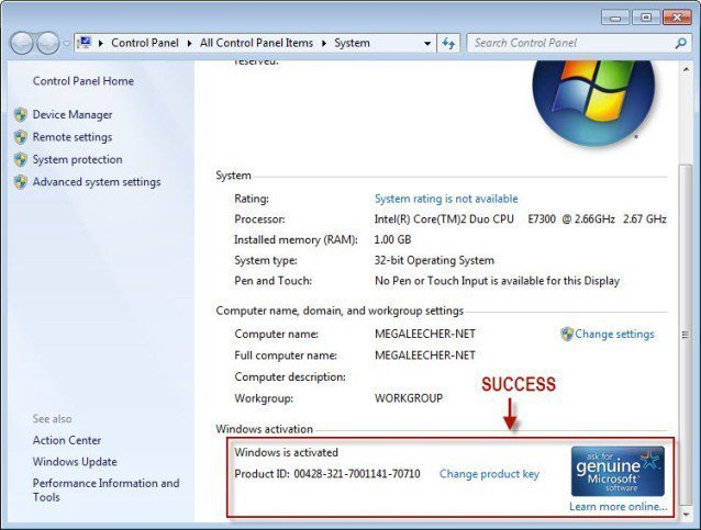 Windows 7 Activator download