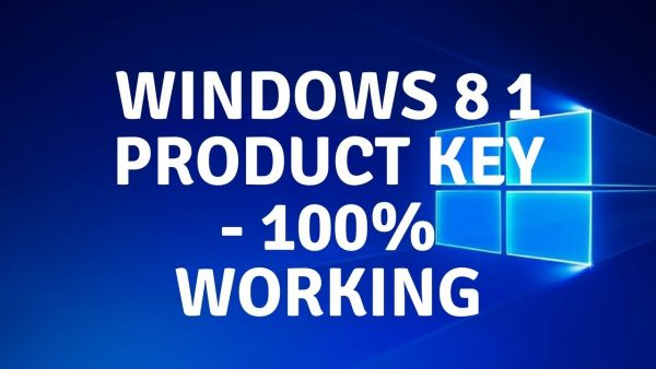 Windows 8.1 Product Key Generator Free Download