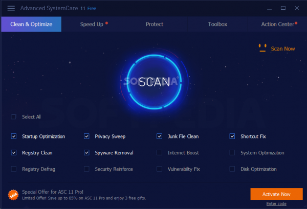 Advanced SystemCare Pro 14.2.0.220 Crack Free Download