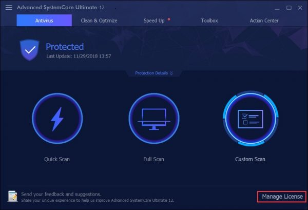 Advanced SystemCare Pro 12.4.0 Crack