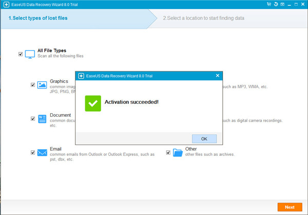 EaseUS Data Recovery Wizard v13.7 Crack Download