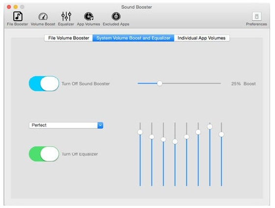 Letasoft Sound Booster 1.11 Screenshot 2