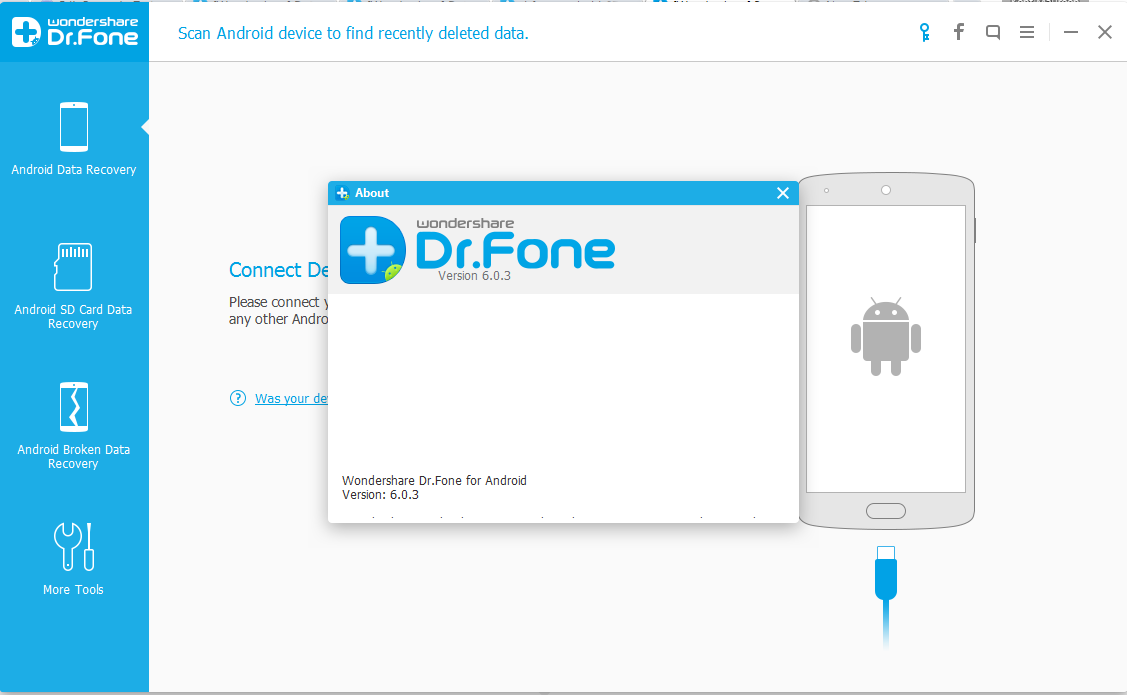 Wondershare Dr Fone 10.2.1 Screenshot 1