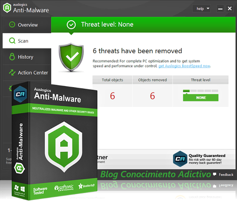 Auslogics Anti-Malware 2019 Screenshot 1