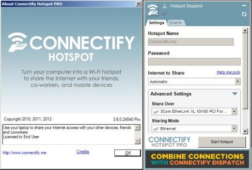 Connectify Hotspot Pro 2020 Cover