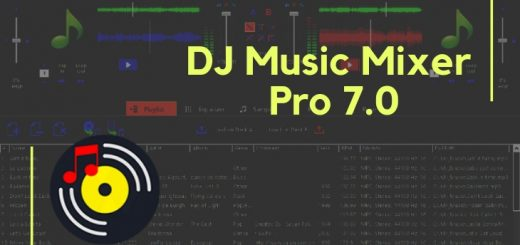 DJ Music Mixer Pro 7.0 Cover