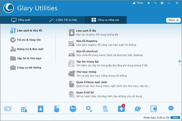 Glary Utilities Pro Screenshot 2