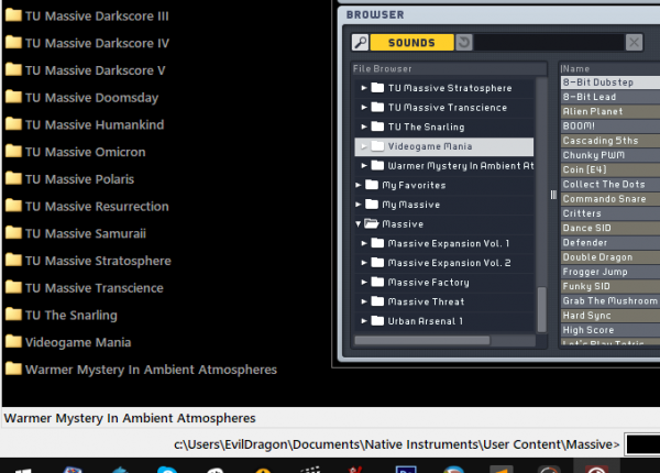 Native Instruments Massive Screenshot 2