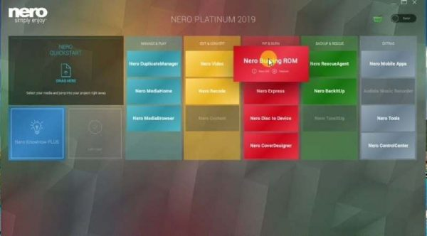 Nero Platinum 2020 Screenshot 2