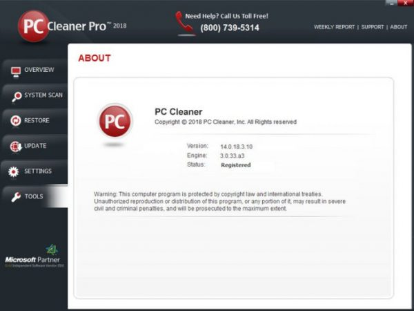 PC Cleaner Pro Screenshot 2