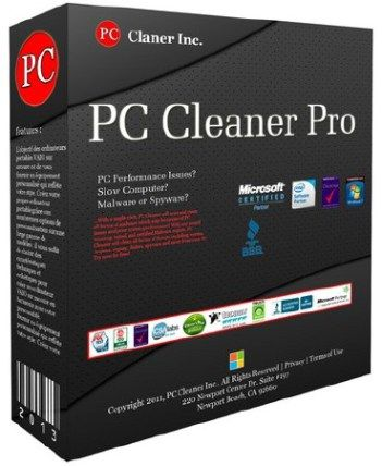 PC Cleaner Pro 2020 Cover