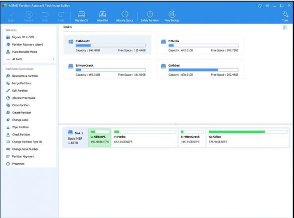 AOMEI Partition Assistant Download (2021 Latest) for Windows 10, 8, 7